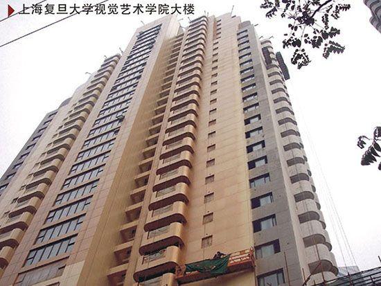 上海复旦大学视觉艺术学院大楼
